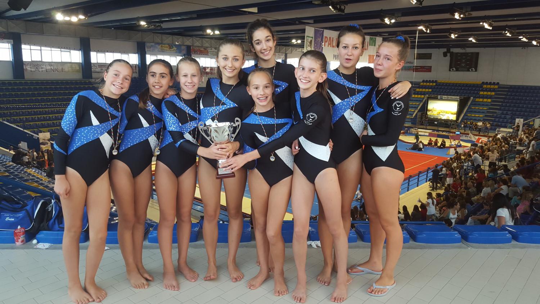 Porto San Giorgio 12 settembre 2015 – Golden League – Le ginnaste solandre conquistano il bronzo