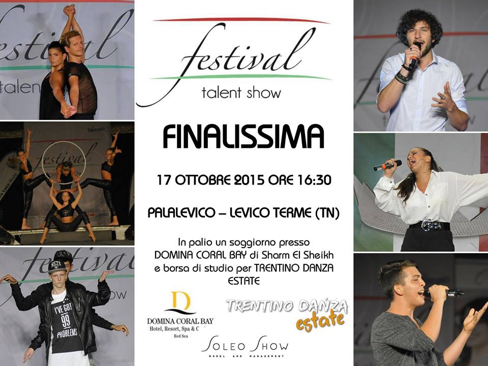 Palalevico 17 ottobre 2015, Finalissima Festival Talent show