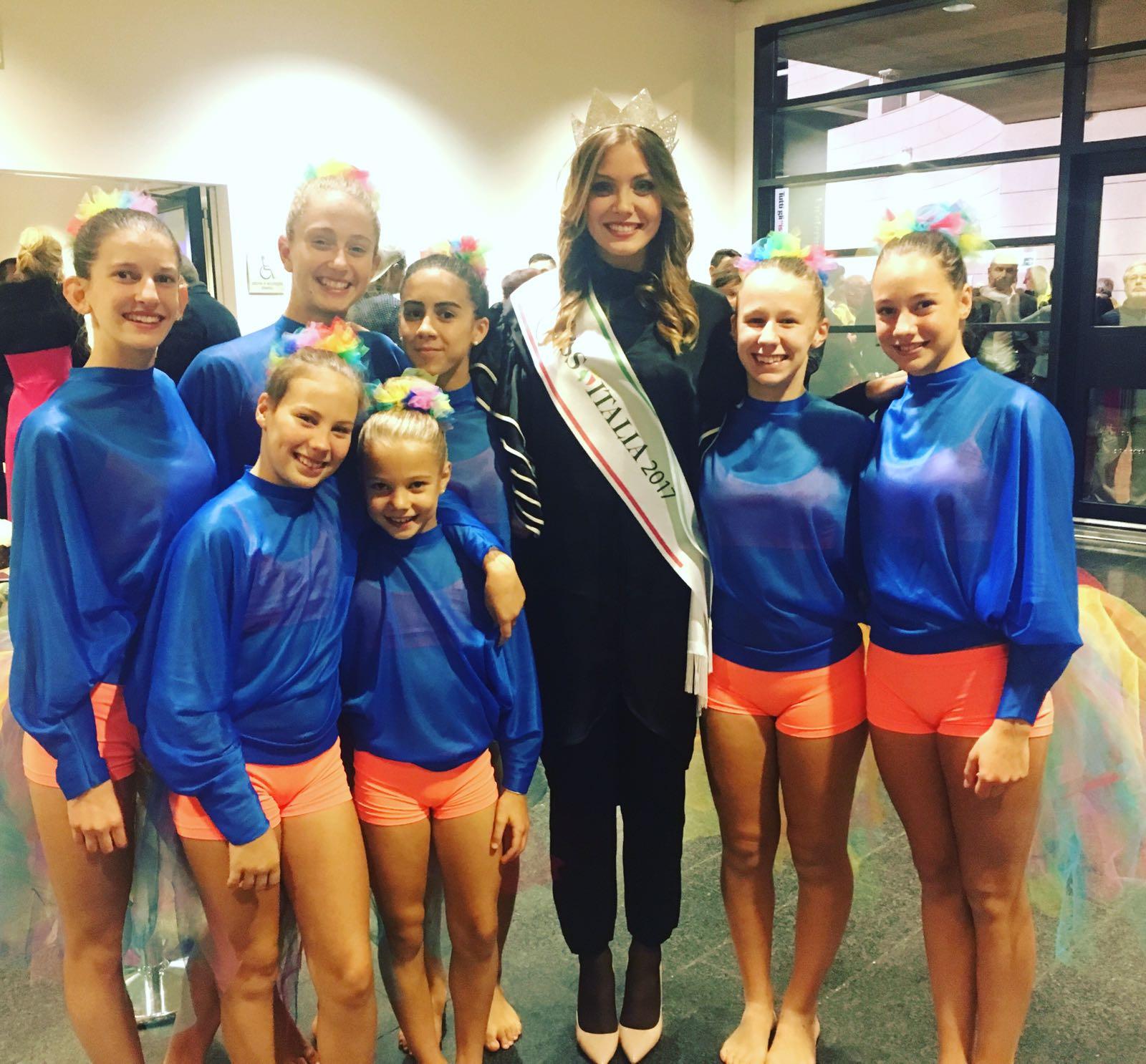 Una foto con Miss Italia!